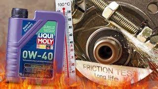 Liqui moly Synthoil Energy 0W40 Jak skutecznie olej chroni silnik? 100°C