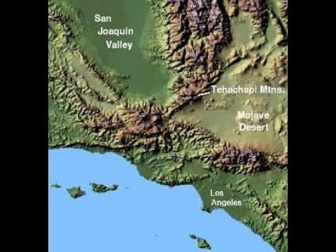 San Andreas A 'ZIPPER' Fault With M7.1 Garlock Fault! Connections Detailed By Geologists!