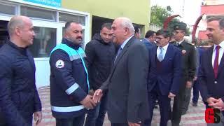 Vali İpek Gerze'yi Ziyaret Etti