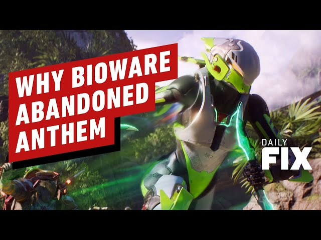 Why BioWare Finally Abandoned Anthem - IGN Daily Fix