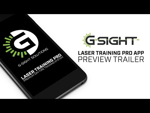 Laser Training Pro App Preview | G-Sight Solutions LLC