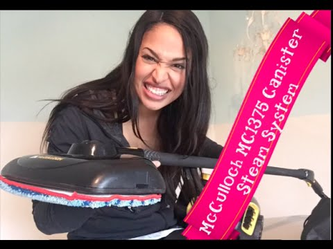 The Best Steam cleaner, The McCulloch MC1375 Canister Steam System review