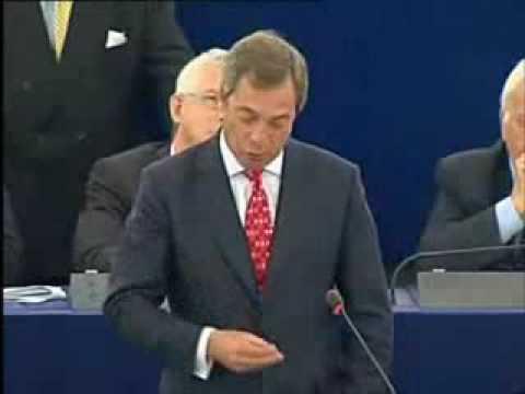 UKIP Nigel Farage - Another hard pounding speech! Vote UKIP June 4th 2009