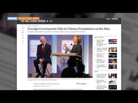 Critics Say Clinton Charity Shouldn't Accept Foreign Money