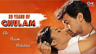 Ab Naam mohabbat song movie gulam amir khan & raani Mukherjee love song