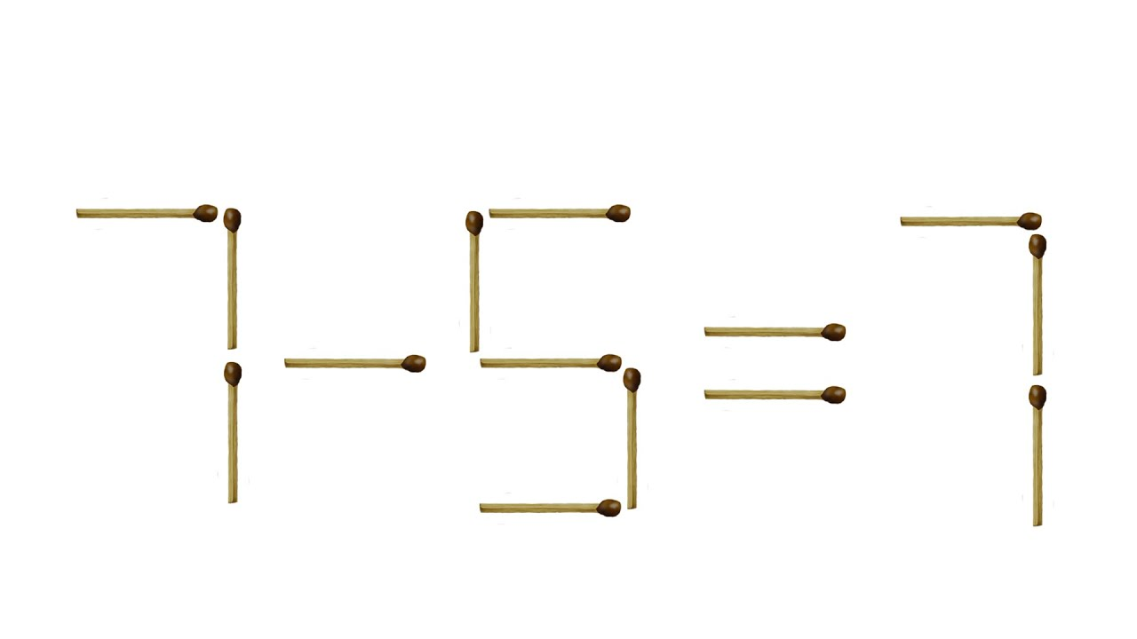Решение задач головоломок со спичками решение задач по матем виленкин 5 класс