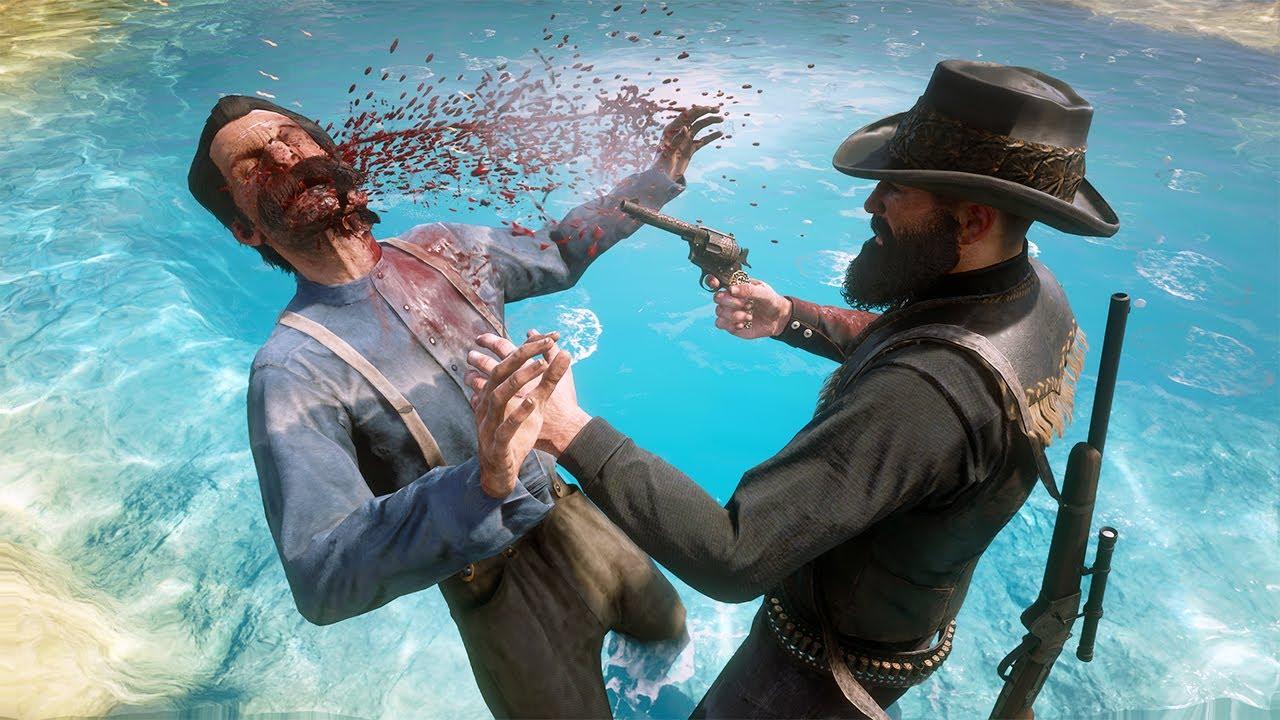 Red Dead Redemption 2 PC 60FPS - Funny & Brutal Moments Vol. 97 (Euphoria Ragdolls)