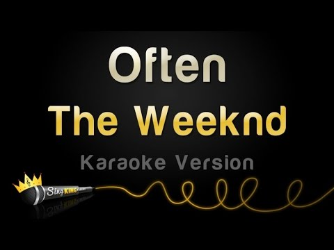 The Weeknd - Often (Karaoke Version)