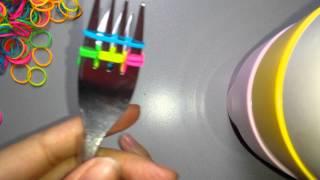 Repeat youtube video Vissengraat met 2 vorken haken