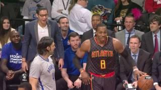 Atlanta Hawks at Brooklyn Nets - January 10, 2017