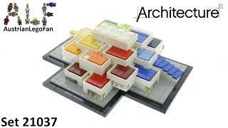 Lego Architecture 21037 Lego House Billund 2017 - Lego Speed Build Review