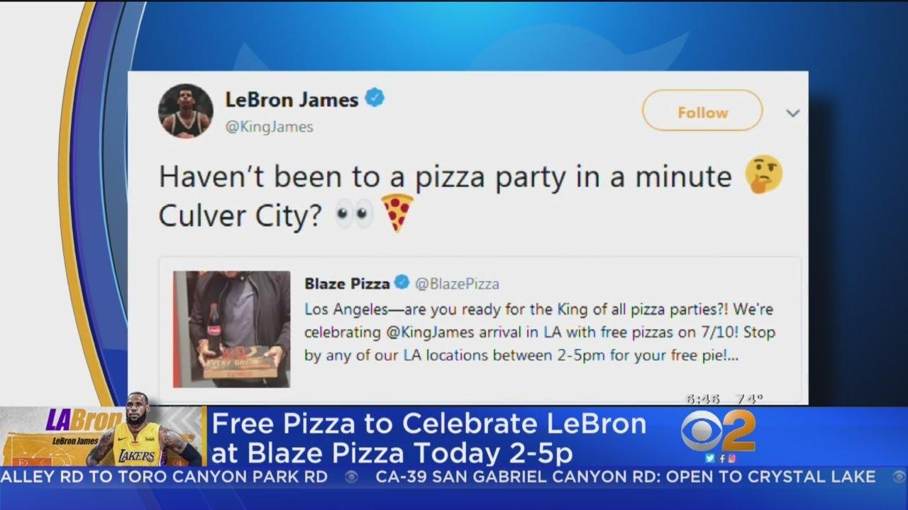 a6b545e7800 LeBron James Hints At Culver City Appearance. CBS Los Angeles