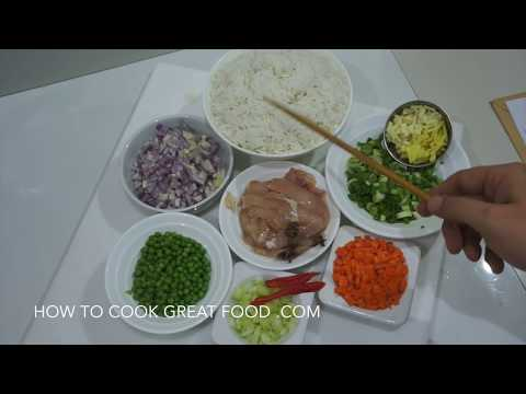 ★★ Chinese Chicken Fried Rice Recipe