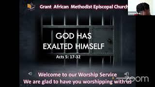 God Has Exalted Himself; Worship Service, January 31 2021