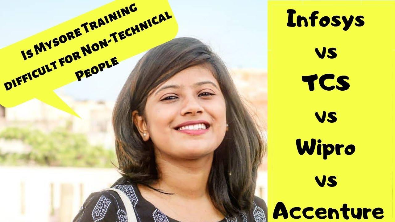 Infosys vs TCS vs Wipro vs Accenture for freshers - Infosys