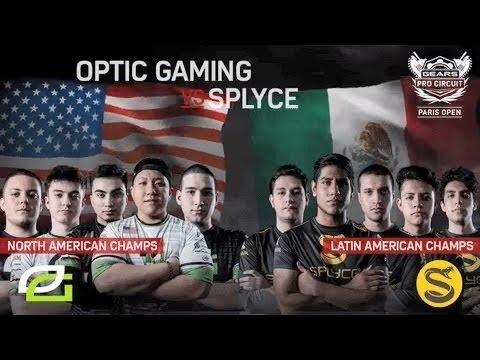 GEARS OF WAR 4 - Optic vs Splyce $75,000 GRAND FINAL MLG Paris 2017