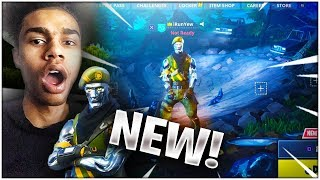 *NEW* INSANE DIECAST SKIN 👀 NEW SOLID STEEL SKIN WINS SOLO GAME on FORTNITE BATTLE ROYALE
