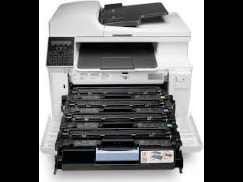 how to fix printer laserjet pro M181FW #SUPPLYPROBLEM #DowngradeFirmware