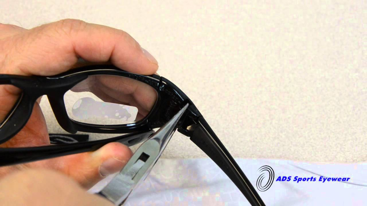 58f12a6245 How to Remove Rec Specs Maxx Lenses. ADS Sports Eyewear