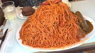 【大食い】7キロ超 ダッカ イタリアン特盛バーグwithかこ【デカ盛り】