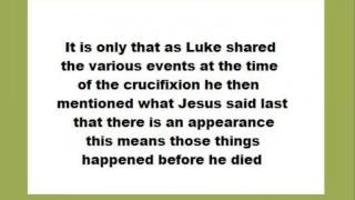 ALLEGED BIBLE CONTRADICTIONS -  Temple curtain torn B4 Jesus died VERSUS after - Jacques More