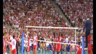 Liga Światowa Siatkówki. Atlas Arena Łódź. Polska - Kuba 4.07.2010
