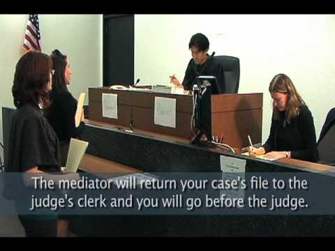 Pro Se Court at the Daley Center: Mediation