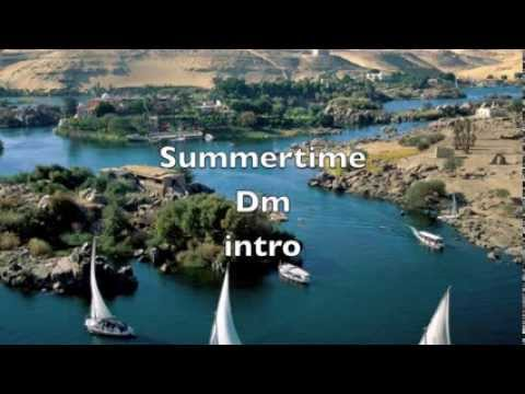 SUMMERTIME - Karaoke Jazz