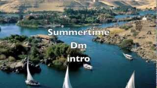 SUMMERTIME - Karaoke Jazz