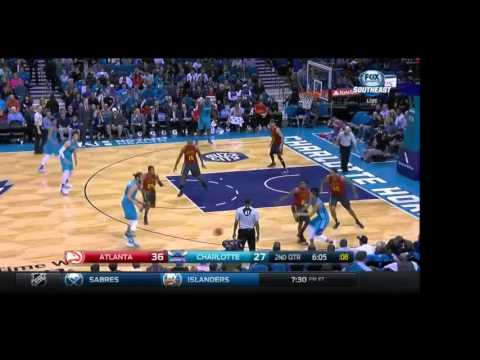 One of the worst possessions in NBA history, courtesy of the 2015-16 Charlotte Hornets