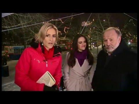 BBC Newsnight: Nomiki Konst and Joe Klein