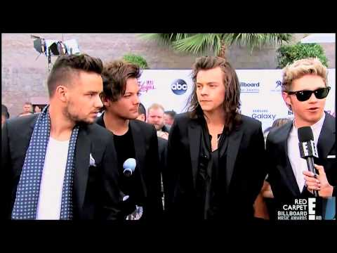 One Direction Red Carpet Interview Billboard 2015