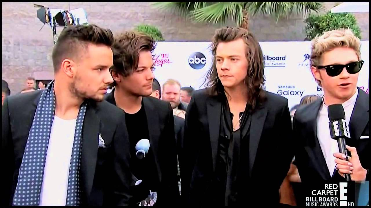 One Direction Red Carpet Interview Billboard 2015 Youtube