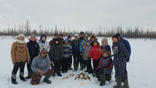 Рыбалка с детьми Якутии, в гостях у оленеводов! Yakutia