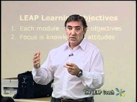 LEAP Coach - LEAP Courseware Goals & Objectives (palliative care education)