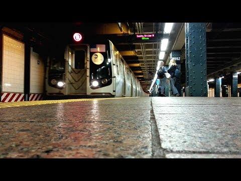 MTA Subway | NYC Transit | N-Train at Whitehall Street & South Ferry