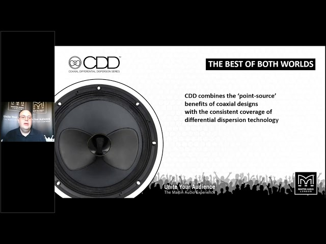 Martin Audio Point Source Loudspeaker Overview