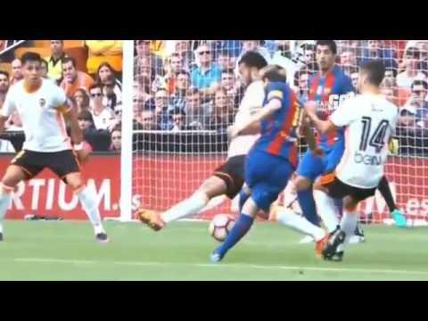 Download Valencia vs FC Barcelona 2-3 All Goals & Highlights 22-10-2016