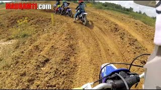 Little Madram11 Races His Yamaha Pw50 In The Shifter Class