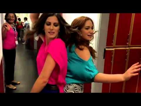 MP - Snapchat - Maria Pinna e Dani Moreno dançando no SBT