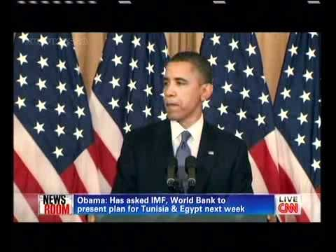 Obama`s  speech about the Middle East and North Africa 19 05 2011