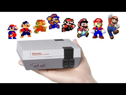 Evolution of nintendo graphics 1984 2018 youtube - Nintendo clipart ...