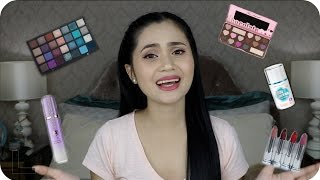 Drugstore & High End Makeup + Skincare Haul | Anna Cay ♥