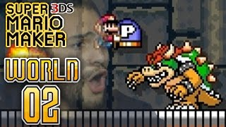 Super Mario Maker 3DS - Super Mario Challenge - World 2