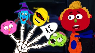 Spooky Finger Family Songs Midnight Magic With Funny Dancing Skeletons &amp Nursery Rhyme ...