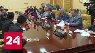 видео Матвиенко рассказала, когда Путин может посетить Южную Корею