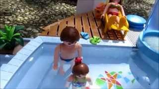Après-midi piscine (playmobil)