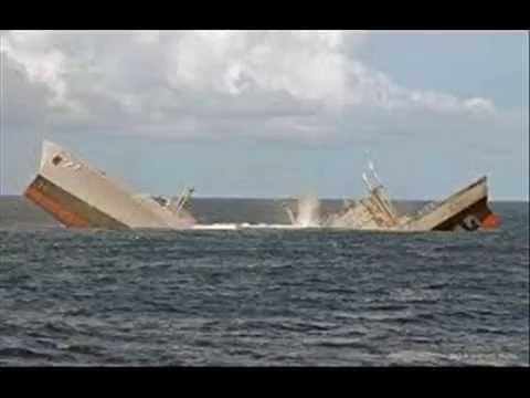 THE S S  PNM SHIP, SINKS OFF TRINIDAD & TOBAGO