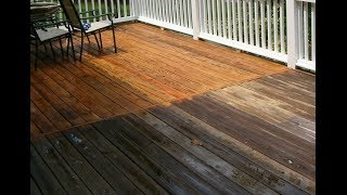 DECK Repair Santa Cruz County CA, Deck Refinishing, Staining & Cleaning