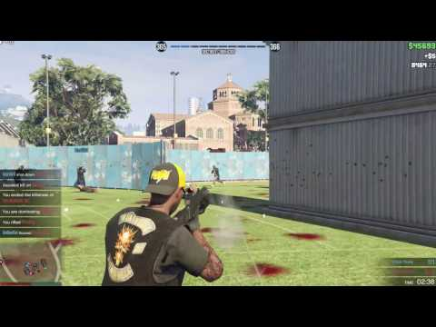 "GTA V PC Free aim RnG Minitage| ""Training"" w/bloopers"